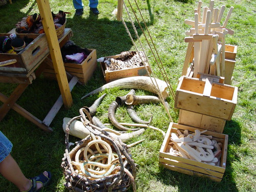 Bone, Horn, and Wooden Toys
