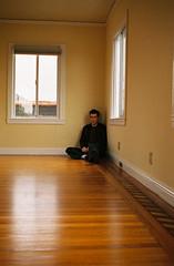 Corner (badspeller) Tags: wood light brown man corner john bedroom sitting floor room gabe sherrill