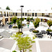 James Logan High School 200s courtyard