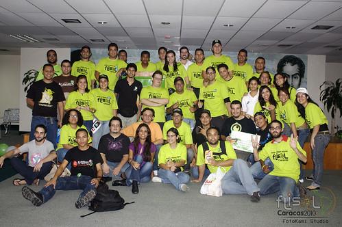 Team FLISoL Caracas 2010