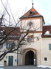 Blutenburg Castle Entrance: the main entrance