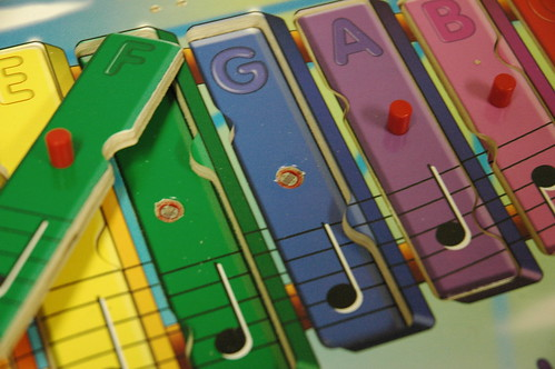 Electronic Wooden Toy, Closeup