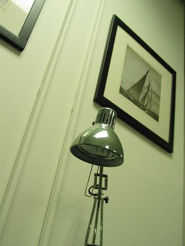 lamp sailboats gunmetal