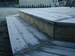 Icy Deck (amyjepson) Tags: ice deck slippery