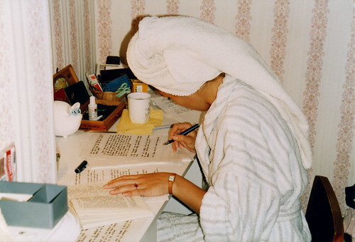 Dámasa - studying