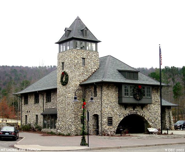 Mt Laurel fire station
