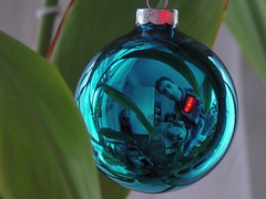 Weihnachtskugel Frohe Weihnachten
