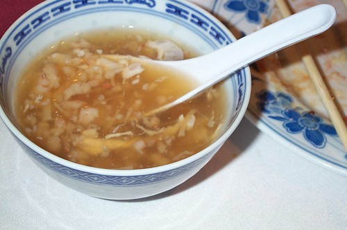 bird nest soup, a traditional Chinese delicacy