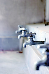 faucet from that world (**sirop) Tags: blue white orchid metal ruin faucets depth thatworld abigfave