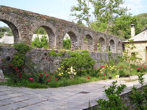 Viaduct, Stavronikita Monastery