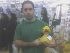 Dan needs this (icequeen057) Tags: cameraphone duckie dan bedbathandbeyond 2005 newyork nyc upperwestside