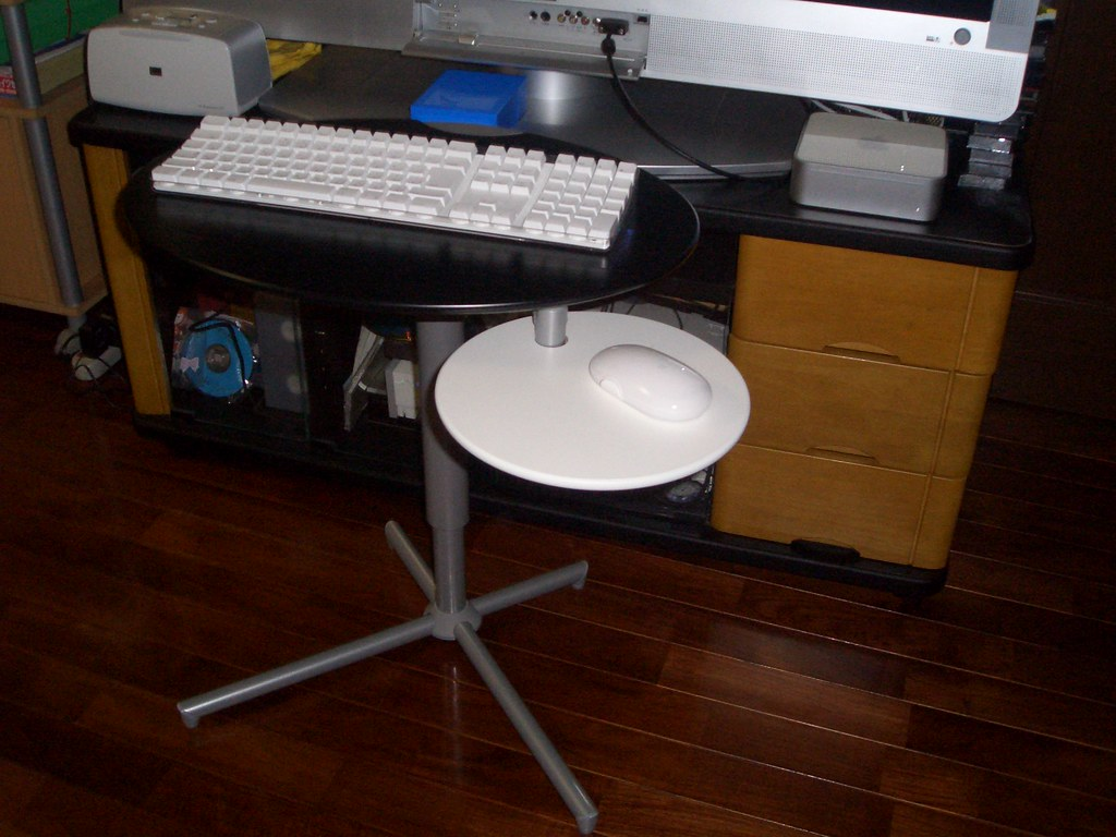 Bluetooth Keyboard & Mouse Table