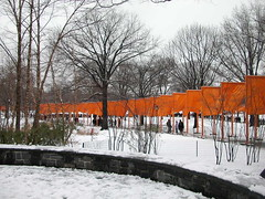By the lake (drewsaunders) Tags: christo jeanclaude thegates newyork 2005 nyc gatesmemory