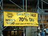 Erection Sale! (uknae) Tags: edinburgh scotland erection sale sign funny