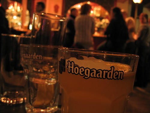 Hoegaarden @ The Old Parr's Head