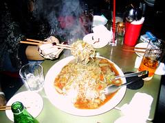 Soba Meshi (fried rice and buckwheat noodles)