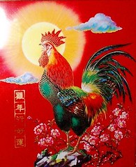 cock of the year (Gotham City Lost And Found) Tags: please add tags cock rooster chicken chinese newyear crow red sunshine bird farm barnyard cockadoodledoo wakeup earlyriser alarmclock beak comb waddle feathers tailfeathers pretty color cocky cockofthewalk