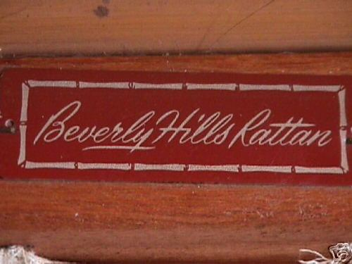 Beverly Hills Rattan