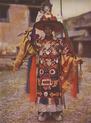 Yongning temple oracle, 1920s