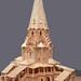 Model of Church of the Ascension at Kolomenskoye Russia