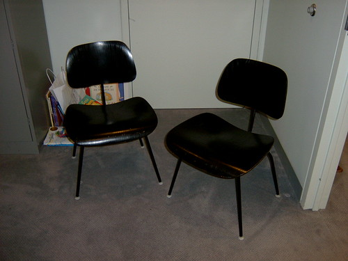 Eames chairs, office