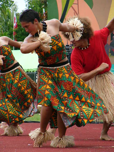 Contemporary Dancers from Tonga
