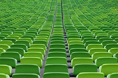 Sea of Chairs II (aqui-ali) Tags: topf25 architecture germany munich topf50 topf75 exterior stadium interior fv5 seats utata fv10 ppv pph aquiali:a=1 fstoppedblog