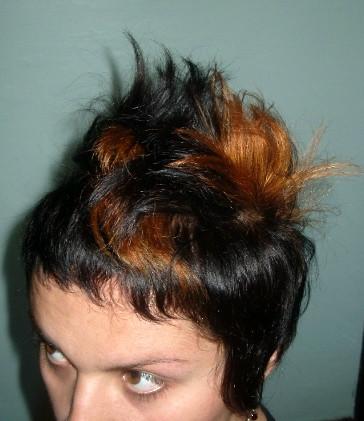 bedhead hairstyle. bedhead. hair. hairstyle