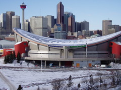 Calgary Saddledome (RicLaf) Tags: calgary saddledome sports hockey arena