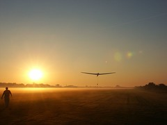 First launch (Rob Millenaar) Tags: soaring flying gliders mist morning dawn sunrise