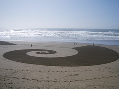 art on ocean beach (the ryan king) Tags: beach sanfrancisco oceanbeach jimdenevan