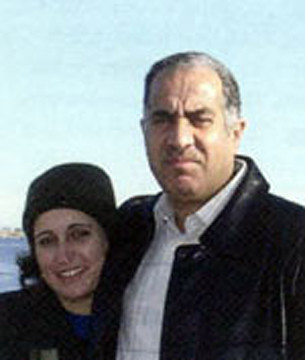 request for assistance in calling for an investigation in the murder of Dr. Khalid Saleh (shown here with his wife, Salam) and the couple's 16 year old son