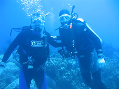 site: Heddy's Reef - 23 (hazybluedot) Tags: vacation underwater scuba diving caribbean diver caymanbrac