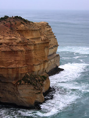 Cliff near 12 Apostles (Dey) Tags: twelveapostles twelve 12 apostles coast rock victoria australia ocean greatoceanroad erosion