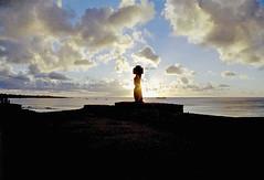 Ahu Ko Te Riku - Easter Island by Ik T