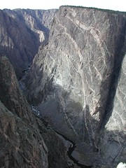 Black Canyon of the Gunnison, 1 026 (Anita363) Tags: pink november black river colorado canyon best crosscountry co granite dike blackcanyonofthegunnison btag paintedwall dikes blackcanyonofthegunnisonnationalpark schist