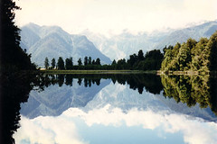 New Zealand - Lake Matheson