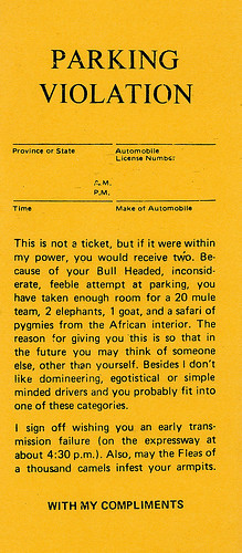 Best Parking Ticket Template Images Gallery >> 30 Images Of Sample ...