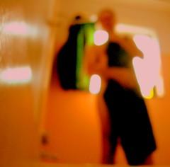 Emerge #1 (O Caritas) Tags: portrait people selfportrait me window self bathroom shower bath curtain towel bathtub emerge ocaritas