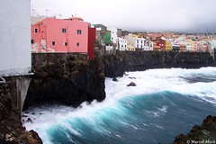 Seaside (_Marcel_) Tags: houses sea colors topv111 meer wave tenerife mostfavorited topf topv teneriffa welle farben topi huser top20fav
