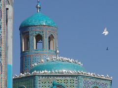 The Blue Mosque in Mazar-e-Sharif