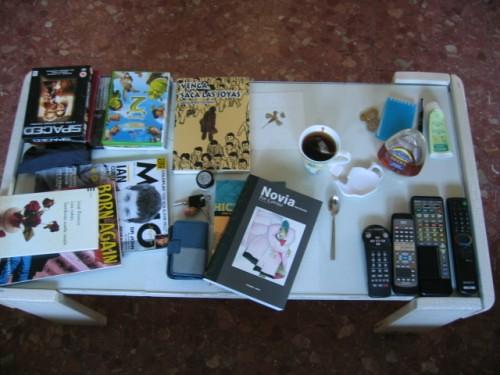 La mesa de mi fin de semana