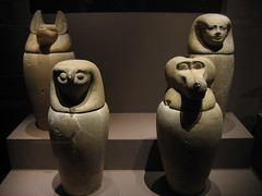 Egyptian Embalming Urns