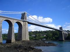 Menai Bridge (barlborough) Tags: bridge wales telford casio exilim menai thomastelford exz3 anglesey 1826 scoopt