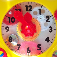 11:54 clock (Brenda Anderson) Tags: clock yellow topv111 colorful time squaredcircle squircle colourful clockwork 1154 curiouskiwi brendaanderson curiouskiwi:posted=2005