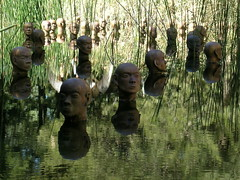floating head sculpture (nospuds) Tags: