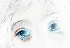 Ojazos (GustavoG) Tags: girl face composite eyes experimental myownfavorites