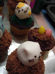 Cat Cupcakes by hundrednorth, on Flickr