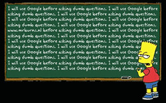 Simpson googlen