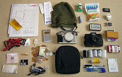 the shit in my bag (nicolai_g) Tags: whatsinyourbag whatsinmybag bag crap color